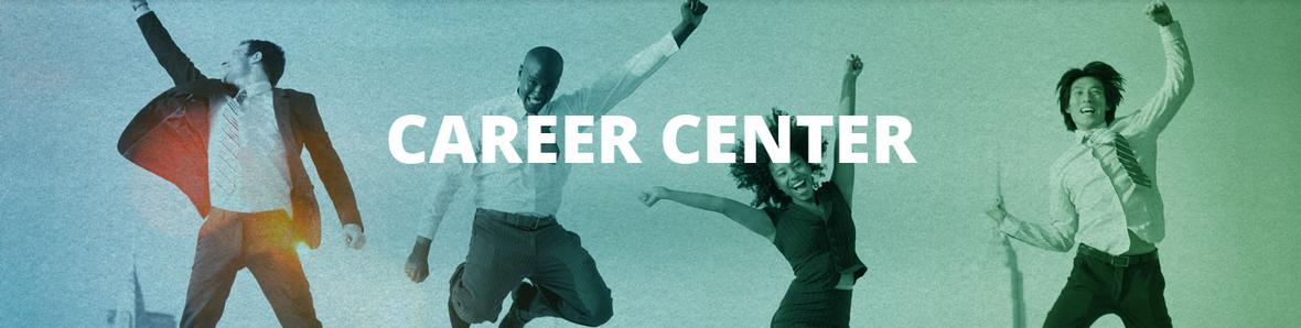 Banner for Career Center page